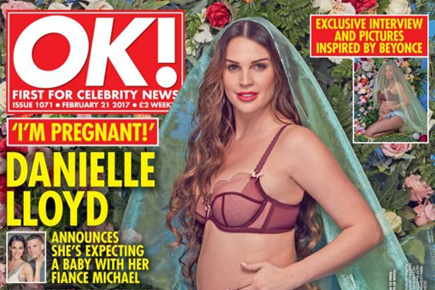 Danielle Confirms that She is Pregnant