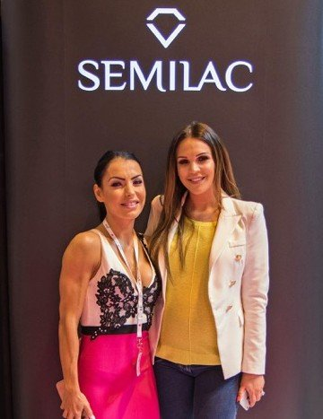 SEMILAC UK to work with Danielle Lloyd